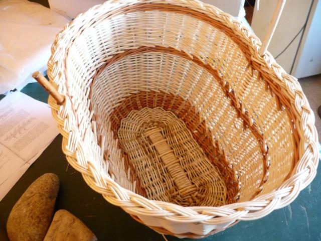 Fabrication De Panier Tissé : Fabrication d une tresse en osier